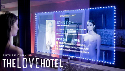 THE LOVE HOTEL ROBOT SELF-DESTRUCTS AFTER A NIGHT OF SEX WITH HER CLIENT SSCENE