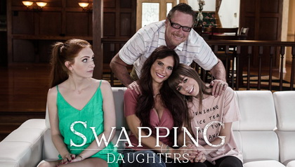 Swapping Daughters PARENTS USE EXCHANGE PROGRAM TO SWAP DAUGHTERS AND START FAKE FAMILY