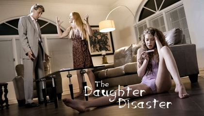 THE DAUGHTER DISASTER STEP-FATHER MADE TO CHOOSE BETWEEN WIFE & PREGNANT DAUGHTER SCENE OPENS